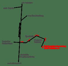 Anfahrt Schützengilde Potsdam Ravensburg1465