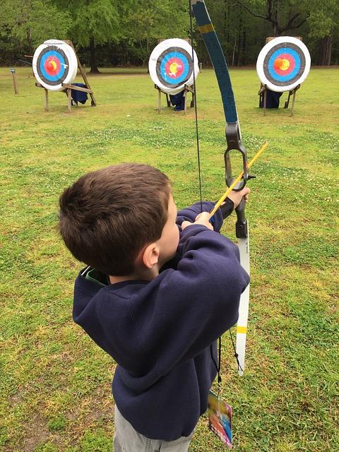 Jugend Training in Potsdam Schießen und Bogen
