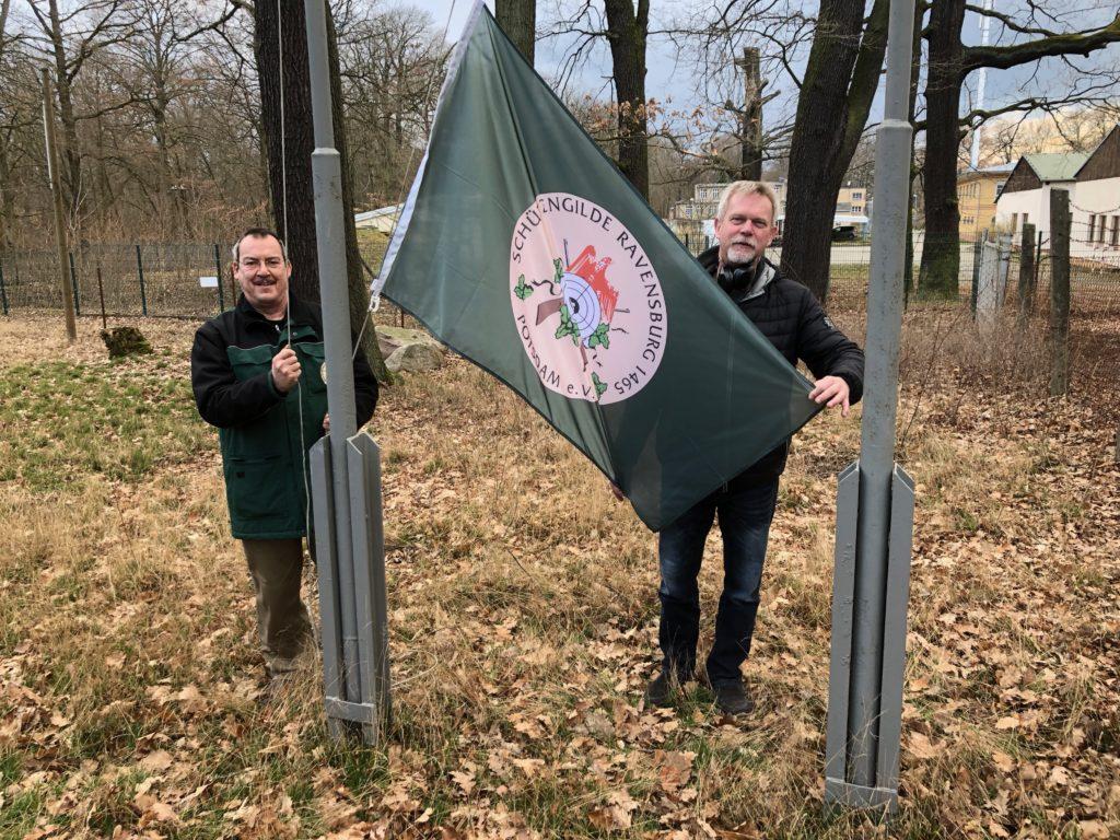 Vereinsflaggen unserer Gilde